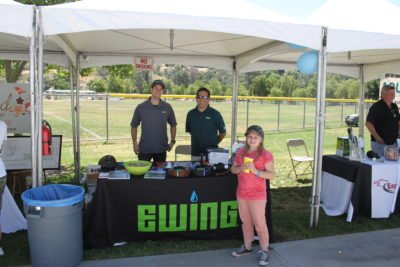 SCV Water - Open House 2017 - Ewing Irrigation Supply Booth
