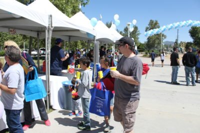 SCV Water - Open House 2017 - Family at Vendor Booth