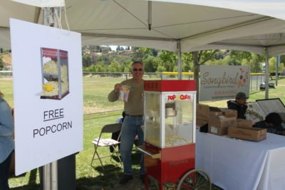 SCV Water - Open House 2017 - Free Popcorn Booth