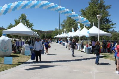 SCV Water - Open House 2017 - Vendors in Central Park