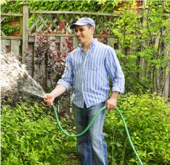SCV Water Conservation & Water Efficient - Watering with Hose